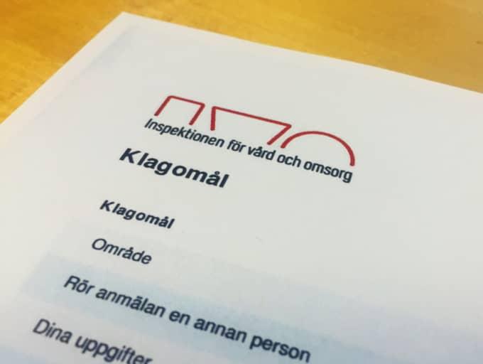 Mamman Petra Göte har anmält händelsen till IVO, Inspektionen för vård och omsorg. Foto: Sanna Wikström