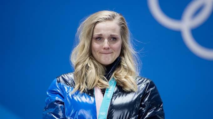Stina Nilsson tog OS-guld i sprint. Foto: SVEN LINDWALL
