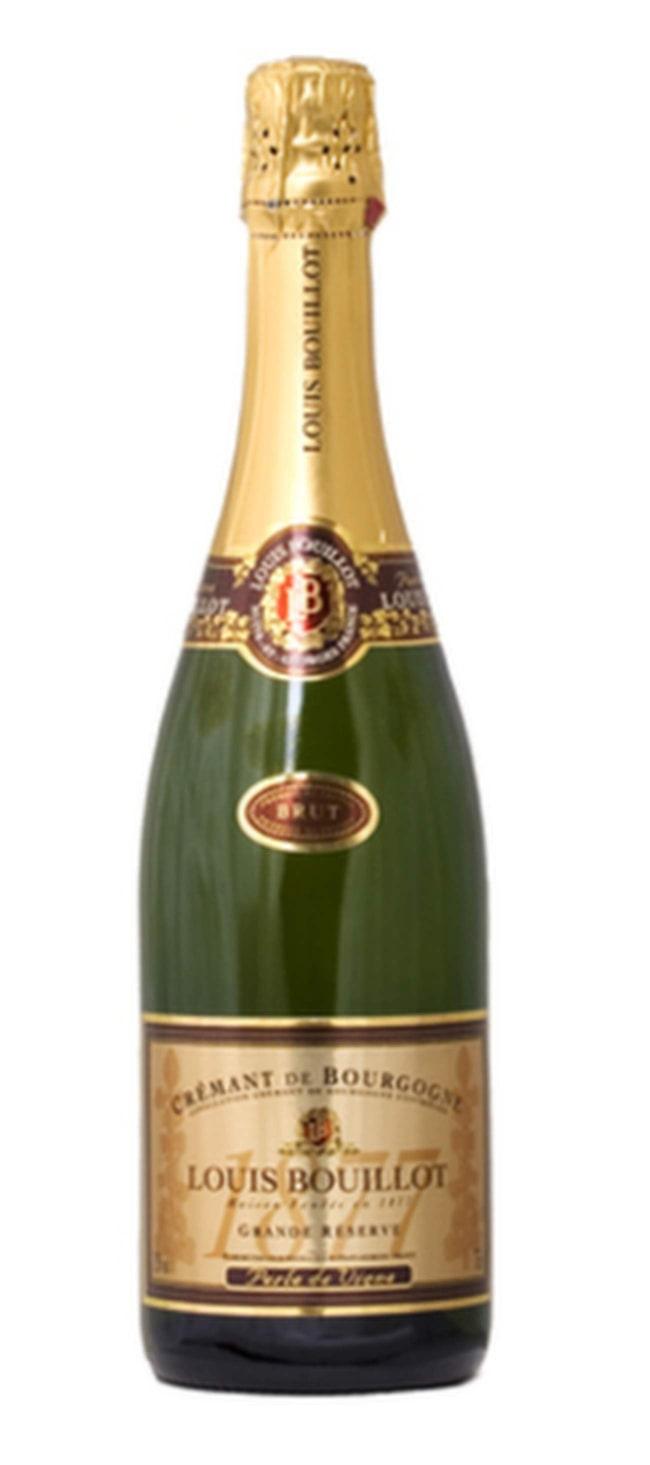 """<strong>Louis Bouillot Crémant de Bourgogne Brut</strong><br>(7688) Bourgogne, Frankrike, 115 kr<br><br>Fräscht och tilltalande med toner av bröd, söta plommon och en frisk fruktsyra. Fint som nyårsskål.<br><br><span class=""""wasp-icon""""></span><span class=""""wasp-icon""""></span><span class=""""wasp-icon""""></span><span class=""""wasp-icon""""></span><span class=""""wasp-icon""""></span>"""