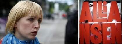 SSU-ordföranden Jytte Guteland har lämnat in en ansökan om att registrera varumärket Alliansen.
