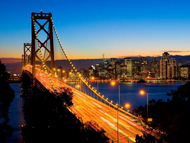 San Francisco är en av julens populäraste resmål.