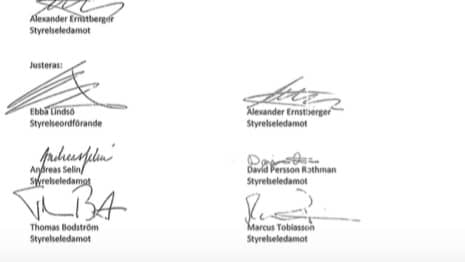 Med sina namnteckningar gav Thomas Bodström och övriga i Allras styrelse klartecken till bolagsstämman om att 20 miljoner kronor kunde delas ut till ägarna, däribland storägaren Alexander Ernstberger.