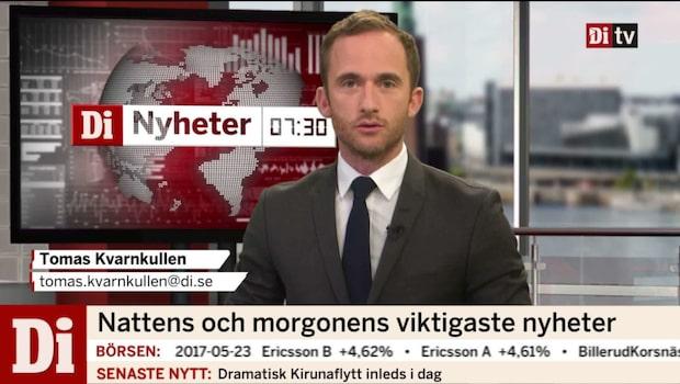 Di Nyheter 07.30: onsdag 24/5