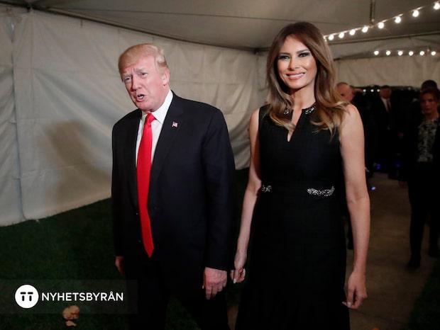 """Melania Trump - ett år som USA:s """"first lady"""""""