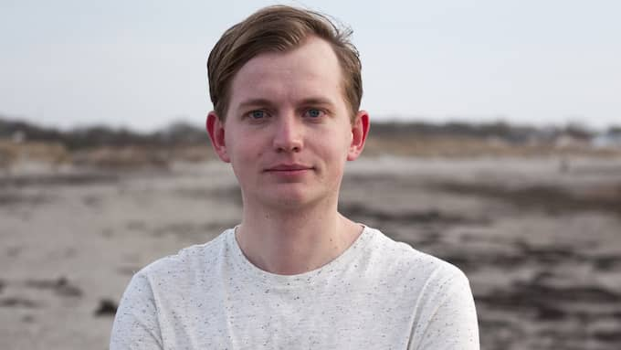 Marcus Nilsen, distriktsordförande för Liberala ungdomsförbundet Väst. Foto: PRESSBILD