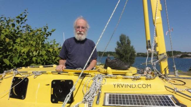 Sven Yrvind förbereder sig för sitt stora projekt – 600 dagar på havet jorden runt.