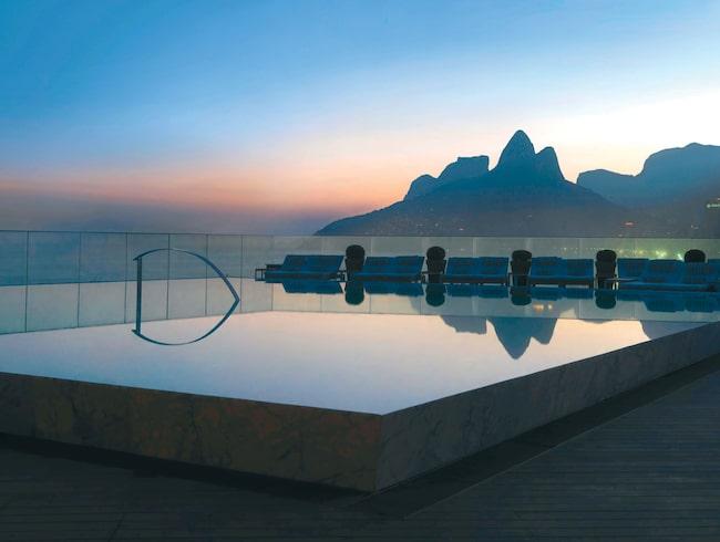 Hotel Fasano Rio de Janeiro är skapat av stjärndesignern Philippe Starck.