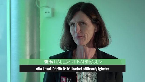 Alfa Laval: Vi bidrar till 15 av FN:s globala mål