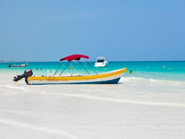 <span>Playa Paraiso på Kuba är ett riktigt badparadis.</span>