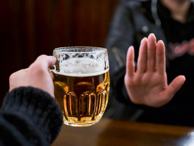 öl efter träning