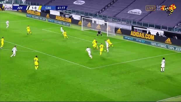 Se när Kulusevski och Ronaldo tar sig förbi försvaret