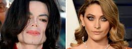 Dottern Paris reaktion efter  filmen om Michael Jackson