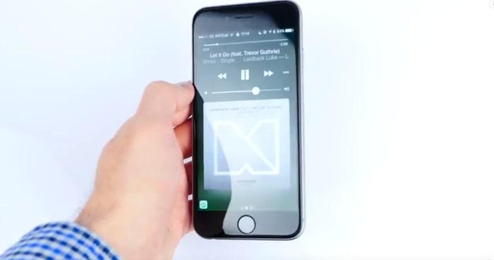 iphone låst sig hörlurar