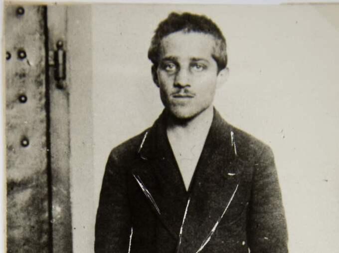 "Gavrilo Princip sköt de mytiska ""Skotten i Sarajevo"". Foto: AP"