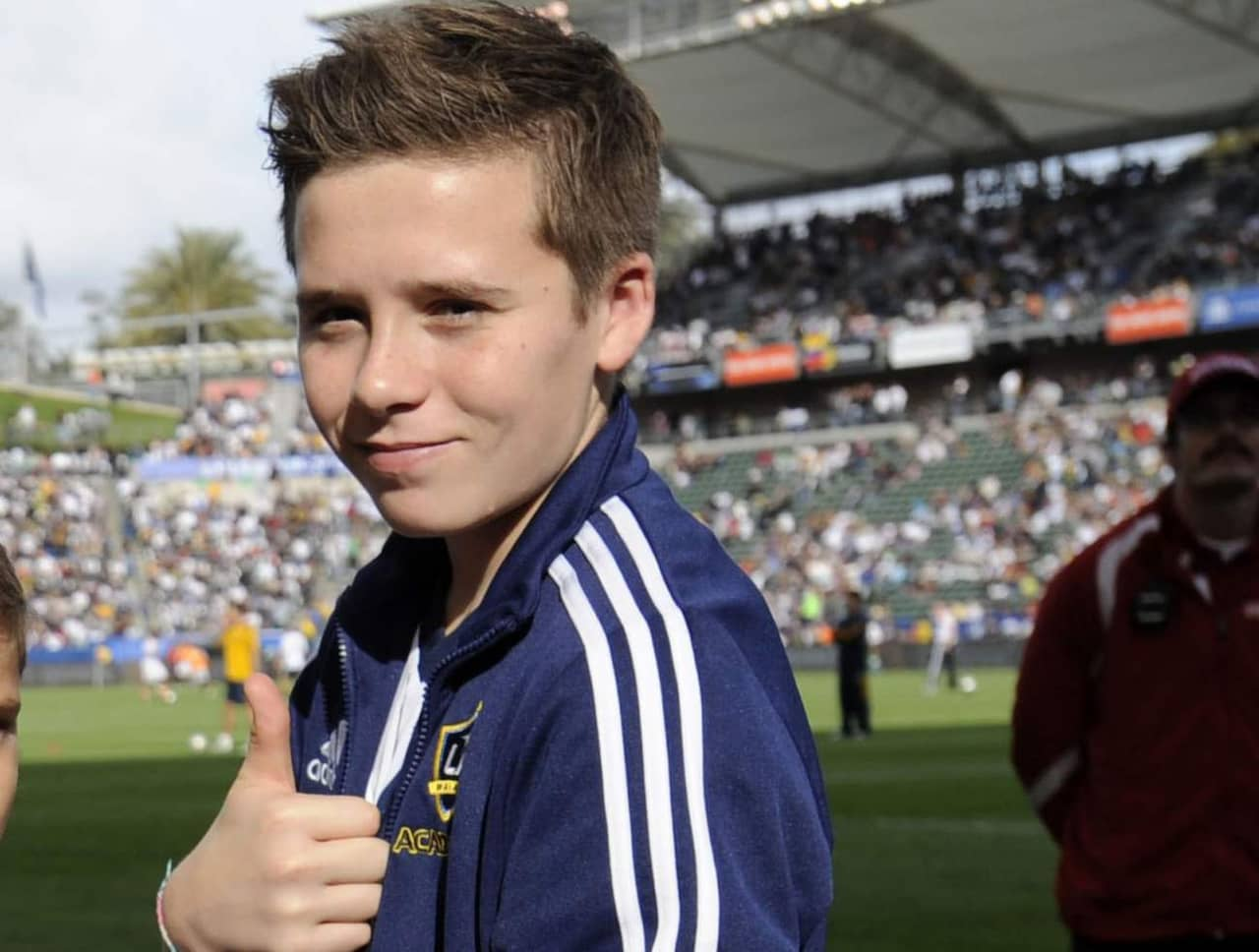 brooklyn beckham fotboll