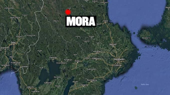 Olyckan inträffade i Mora. Foto: GOOGLE MAPS