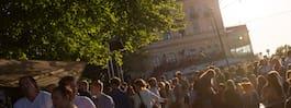 Mosebacke i Stockholm får ny uteservering