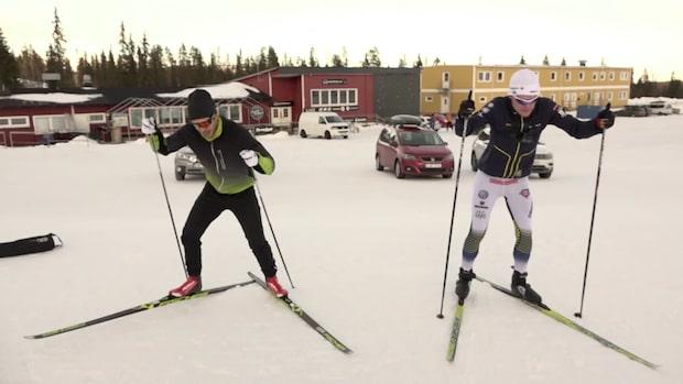 Hellner vs Gadd på Dundret!