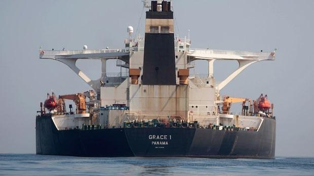 Kampen om oljetankern Grace 1 – detta har hänt