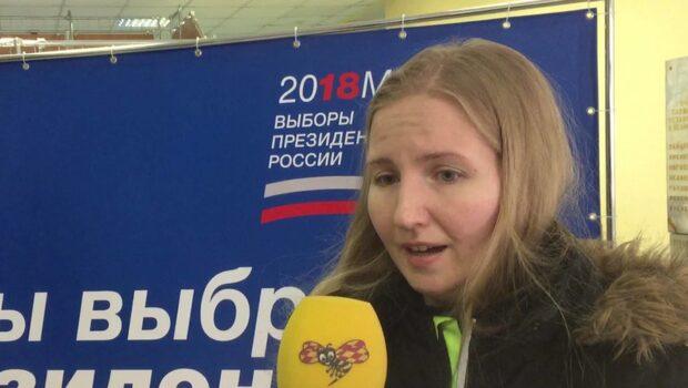 """Väljaren Viktoria om valet i Ryssland: """"Jag litar på Putin"""""""