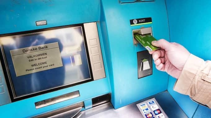 Bankomat AB har ensamrätt till varumärket Bankomat® och ägs av Danske Bank, Handelsbanken, Nordea, SEB och Swedbank med Sparbankerna. Kontantautomaterna finns på fler än 500 orter runt om i Sverige. Foto: JAN WIRIDEN / GT/EXPRESSEN