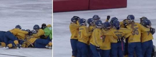 Sverige är världsmästare.