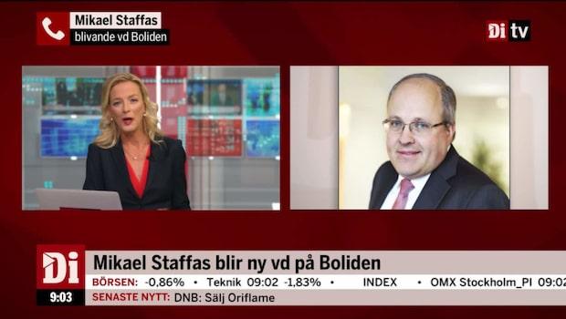 Mikael Staffas om sitt nya uppdrag som vd på Boliden