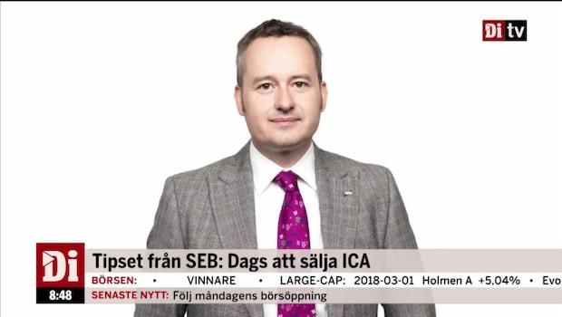 """Aktiestrategen: """"En aktie som man bör sälja är ICA"""""""