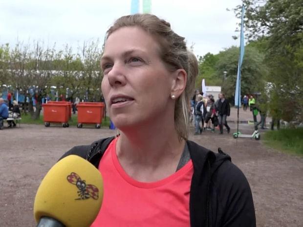 """Löparglädje vid Göteborgsvarvet: """"Det bästa är folkfesten"""""""
