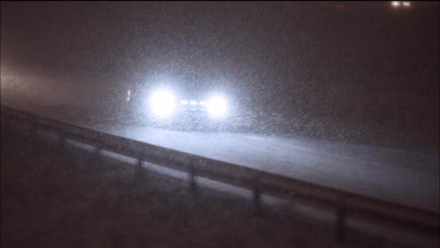 Snöoväder drar in från Norge