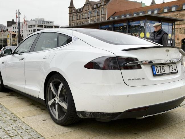 Tesla Model S är Sverige näst mest populära elbil.