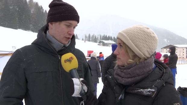 """Haag flydde media: """"Hon är frustrerad"""""""