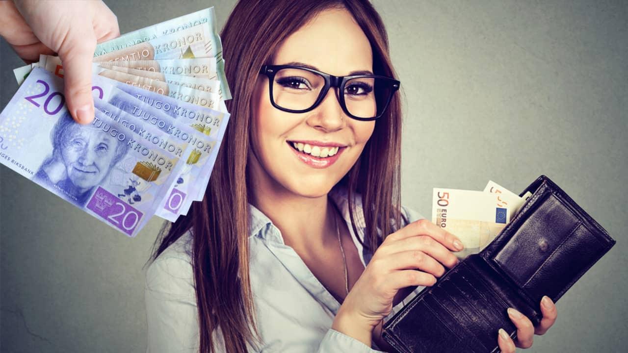Latt att shoppa utan pengar
