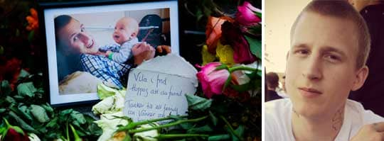 MÖRDADES. Gabirel Holmdahl, 20, hittades död flera veckor efter försvinnandes i augusti. En av de misstänkta i fallet är släppt på fri fot - och uppges nu ha en hotbild över sig.