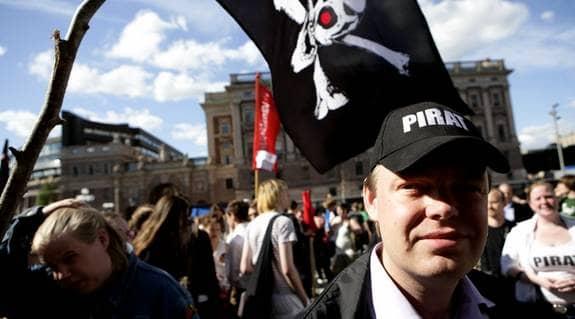 """Piratpartiet kräver nu att rättegången tas om. """"Det här är korruption och rättsröta på en helt oförlåtlig nivå"""", skriver partiledaren Rick Falkvinge i ett pressmeddelande. Foto: Jörgen Hildebrandt"""