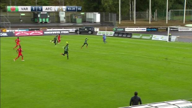 Höjdpunkter: Varberg-AFC Eskilstuna