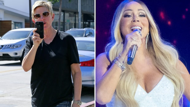 Mariah Careys ord efter Ellen DeGeneres sluga knep