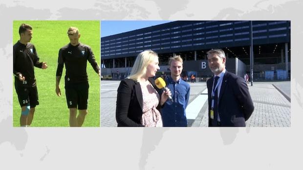 """Niclas Carlnén: """"Sträcker alltid på ryggen lite extra"""""""