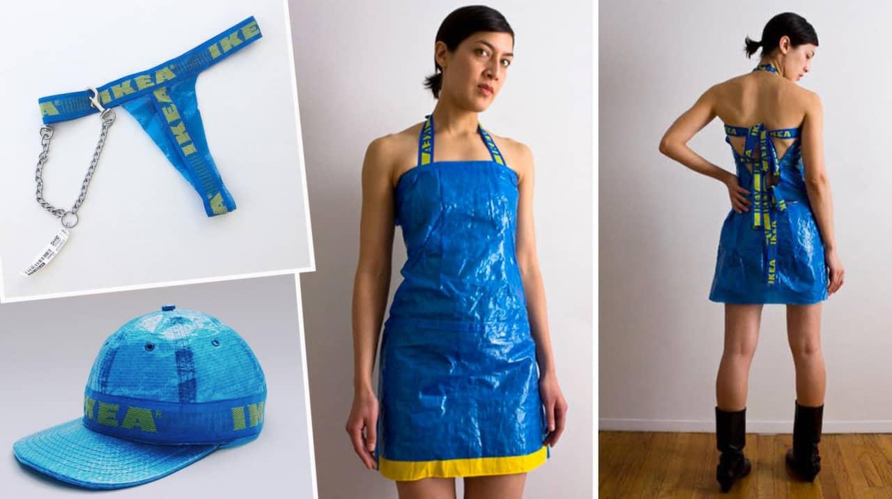 21 sjuka klädesplagg som folk har sytt av IKEA påsar