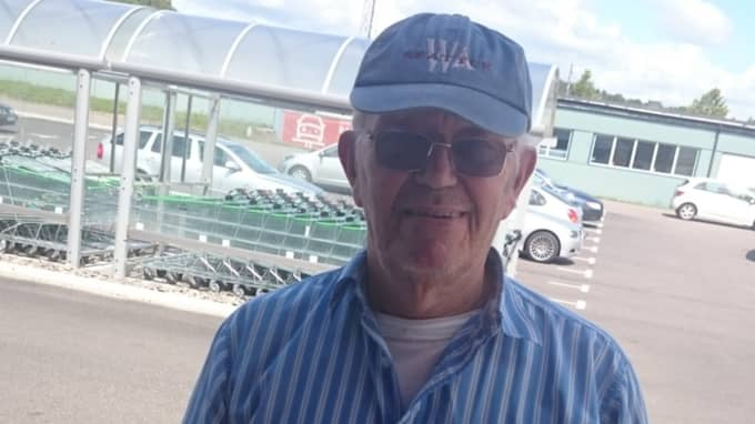 Bengt Söderlund, en av initiativtagarna till insamlingen för brottsoffret. Foto: Privat