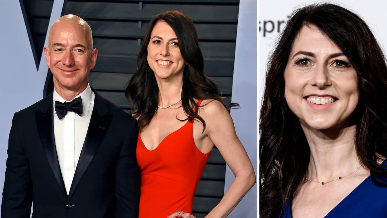 McKenzie Bezos is the third richest woman after the divorce