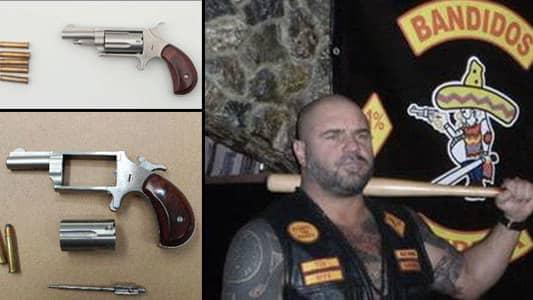 Anmalde mordforsok misstanks nu for vapenbrott