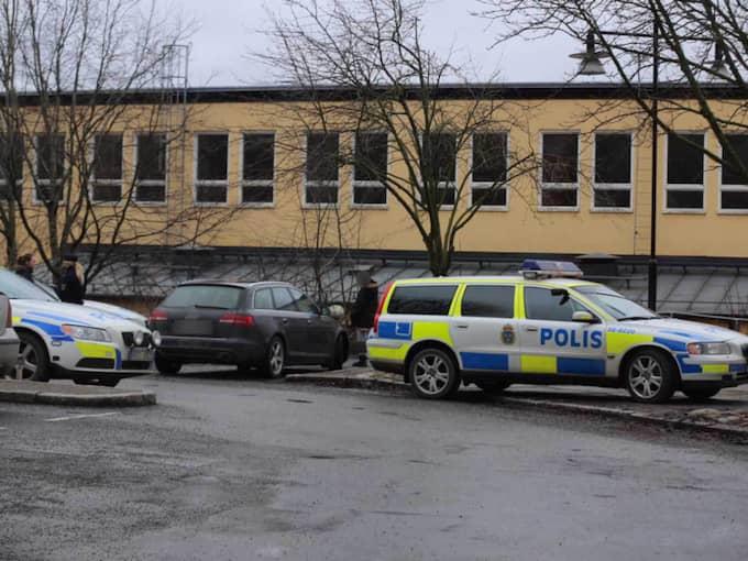 """""""Den här händelsen har inte primärt en koppling till skolan utan det är en konflikt mellan de inblandade och det kunde lika gärna ha skett någon annanstans än på skolan,"""" säger Sven-Erik Olsson, jourhavande pressinformatör vid Stockholmspolisen. Foto: Janne Åkesson/Swepix"""