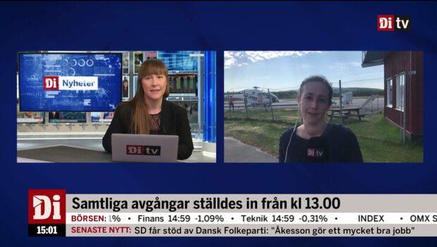 """Åkerlund: """"Kommer att slå ganska hårt mot Västerbottens inland"""""""