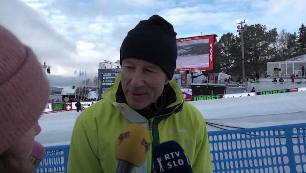 """Stenmark om Vonn: """"Fantastisk"""""""
