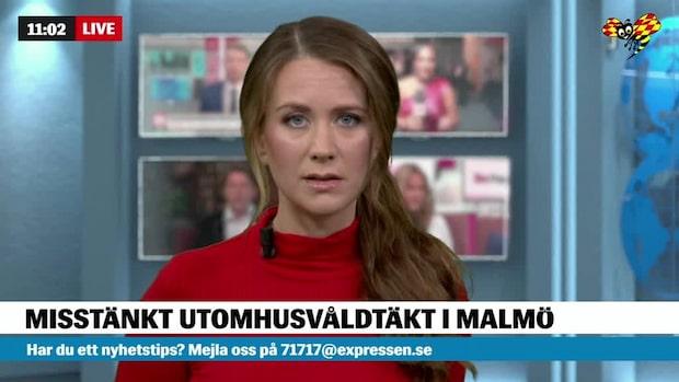 Misstänkt våldtäkt utomhus i Malmö