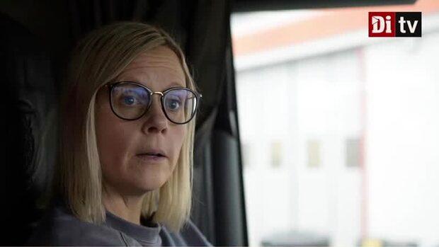 Lastbilsföraren Linda om dåliga vägarna: Otäckt att köra