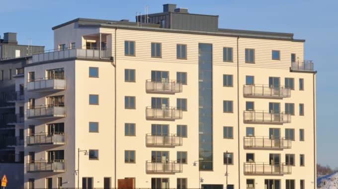 Bostadsrättspriserna i Stockholm gick upp med 1,6 procent. Foto: Henrik Isaksson/IBL-AOP