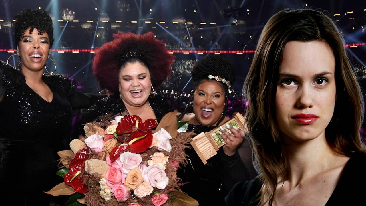 Kvinnorna tog tillbaka hela Melodifestivalen