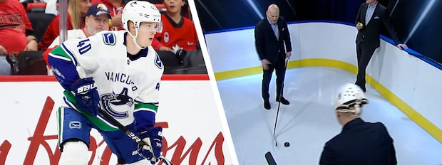 """Håkans Hockeyskola: """"Elias Pettersson har en utsökt teknik"""""""